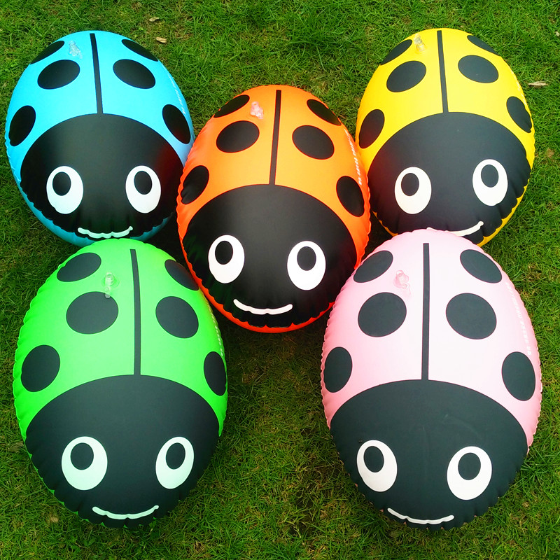 Children Swimming Gear Ass Balls  Inflatable Beetles Lifesaving Water Double Balloon Thickened Buoys