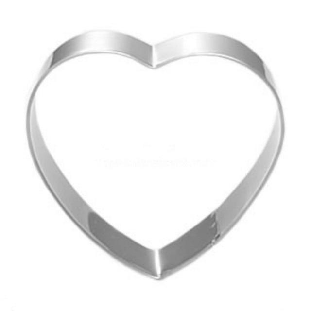 1 Stuck Liebe Herz Ausstecher 8 Cm Taglich Verwendet Edelstahl