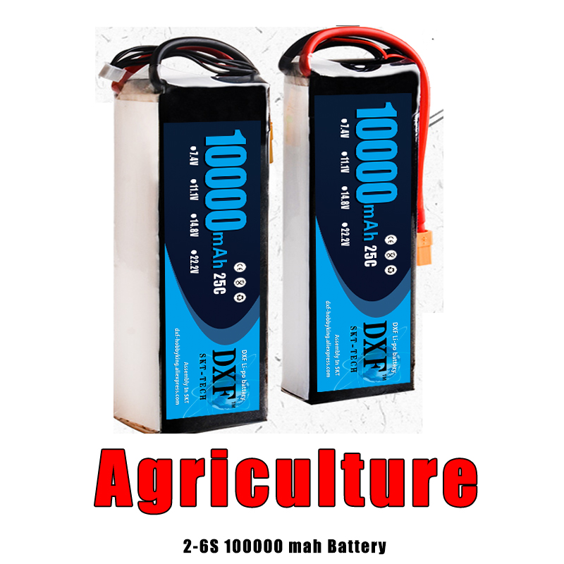 2018 DXF New Arrived RC Lipo Battery 11.1V 10000mah 25C 50C 3S AKKU Bateria For Quadcopter Helicopter Airplane Boat 2018 new arrived lipo battery 2s 7 4v 1200mah 20c max 50c with tamiya connector akku for mini airsoft gun battery rc model