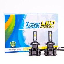 цены на 2pcs H4 H7 H11 H1 H3 9005 9006 Car LED Headlight Bulbs Hi-Lo Beam 80W 10000LM Auto Fog Light Lamp 3 color 3000K 4300K 6000K  в интернет-магазинах