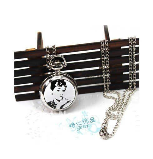 Europe and the United States to restore ancient ways adorn article beauty smoking pocket watch necklace