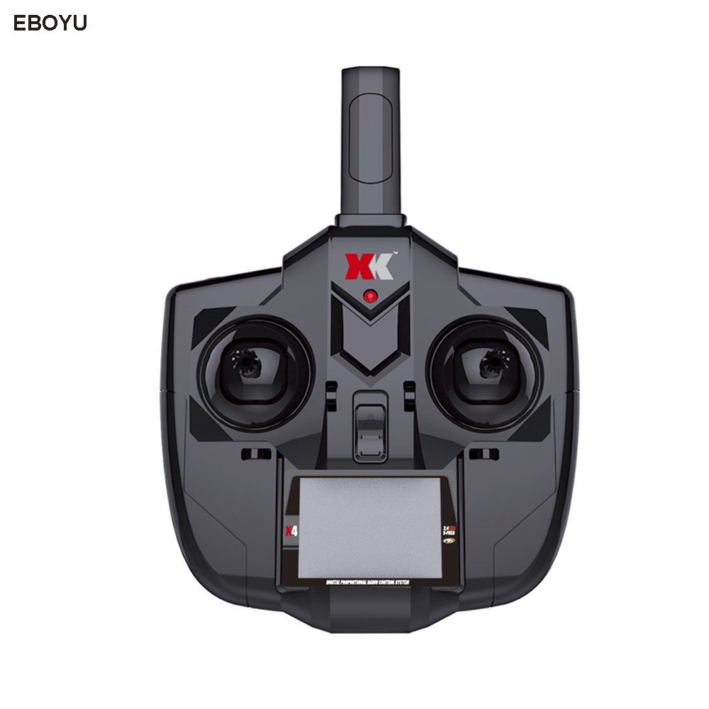 Original XK DHC-2 A600 2.4GHz 6CH Transmitter for XK A600 A700 A430 RC Airplane Drone xk dhc 2 a600 rc airplane spare part plastic parts