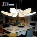 Лучшая цена  современная простая модная светодиодная акриловая Подвесная лампа с цветком  кофейная лампа для отдыха  для спальни  гостиной  ...