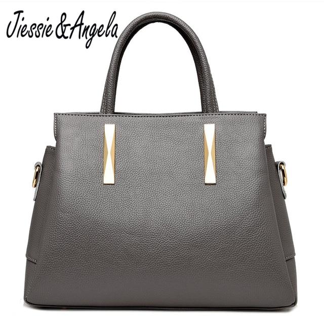 809a1b7d15 Jiessie   Angela Luxury Handbags Women Bags Designer Lady s Tote Bag Handbag  Women Famous Brands Leather