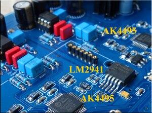 Image 3 - KaolanhonAC כפול 9V שני אחת AK4495 הכפול מפענח מקביל לוח מגבר מפענח DAC סיים לוח סיבי קואקסיאלי USB קלט