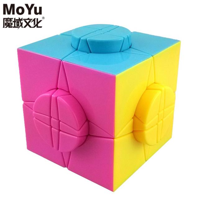 MoYu Marca 76 MM Rueda del Tiempo Cubo Mágico Speed Puzzle Cubos juguetes Educativos Juguetes Especiales