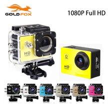 1080P Full HD Sport Action Camera 170 Degree Wide Angel Sport DV Camera Go Waterproof Pro Mini DV Bike Helmet Cam Car Dvr