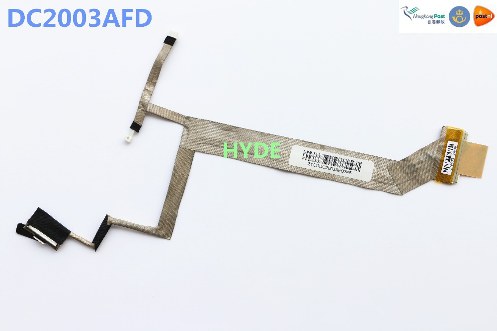 Hyde New ZYEDDC2003AFD283 DC2003AFD LVDS CABLE FOR HP DV6 DV6-1000 DV6-1122 DV6-1200 DV6-1228 DV6-1334 518775-001 LCD LVDS CABLE new original laptop replacement lcd cable for hp pavilion dv6 6000 dv6 6100 dv6 6200 dv6z 6100 b2995050g00013 lcd lvds cable