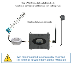 Image 5 - Lintratek 3G Repeater Versterker Wcdma 2100 Mhz Signaal Booster 2100 Lte Band 1 Met Lcd scherm Mobiele Telefoon Signaal repeater Kit55