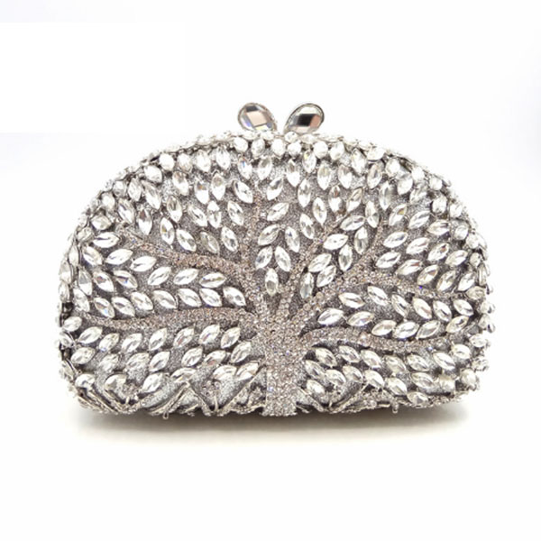 Golden Crystal Evening Clutch Bag Women Party Wedding Handbags with Chain Dinner Bag Lovely day clutch Ladies pochette bag сумка jessie