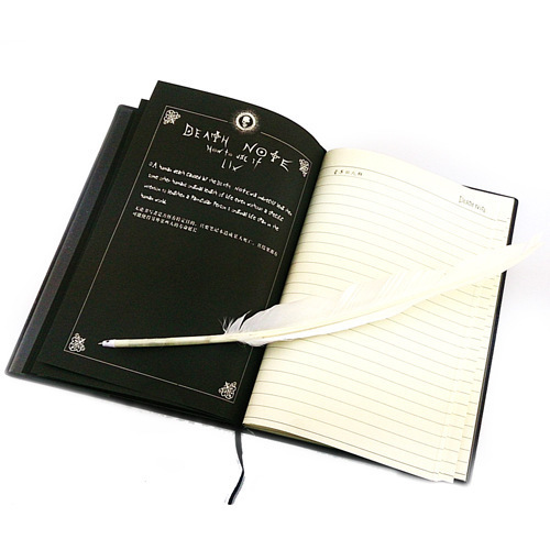 2018 Planner Anime Death Note Book Lovely Fashion Theme Ryuk Cosplay Notebook New School Supplies Large Writing WJ-XXWJ323-