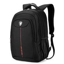 2017 Mens Backpacks Man Rucksack 16 Inch Laptop Bag Student Schoolbags Men Travel waterproof Oxford  Backpack Bags Black bagpack
