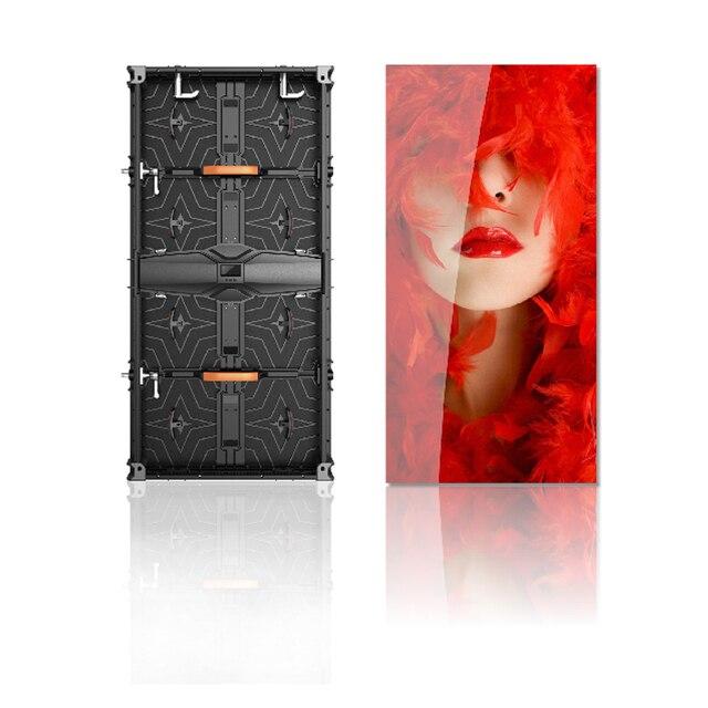 Écran daffichage portatif extérieur de LED de SMD 500x1000mm P4.81 rvb système de contrôle de NovaStar LED grand écran pour le fond détape dévénements