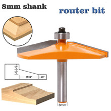 1pc 8mm Shank Panel Raiser ไม้ Router Bit Ogee แผงไม้ไม้ Router Bits คาร์ไบด์บิตประตูมีด