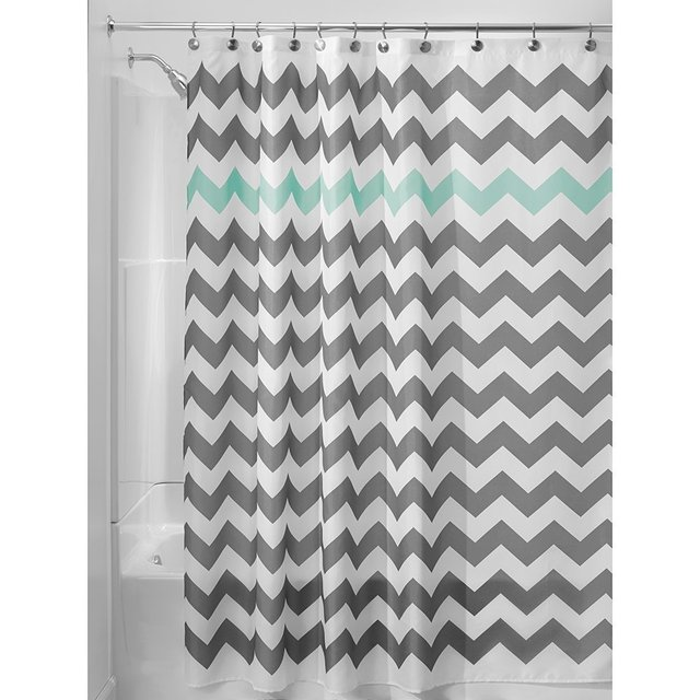 grey chevron shower curtains.  Grey Memory Home Bathroom Decor Chevron Shower Curtain Waterproof Polyester  Fabric Blue Gray Striped Bath Curtains Intended Grey R