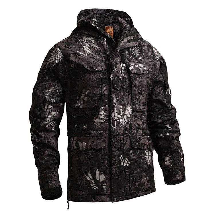 US UK M65 Outdoor Windbreaker Jacket with Inner Soft Shell Men Windbreaker Jacket Combat Tactical Military Thicken Winter Jacket military tactical jacket for men army fans m65 windbreaker jacket 101st airborne division winter jacket black od
