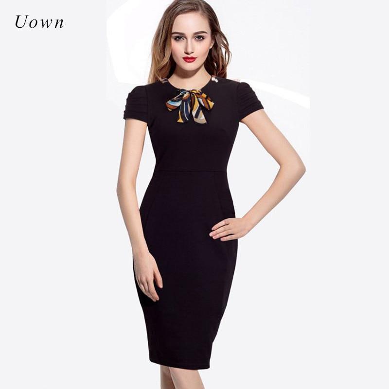 Office Casual Dress for Black Women