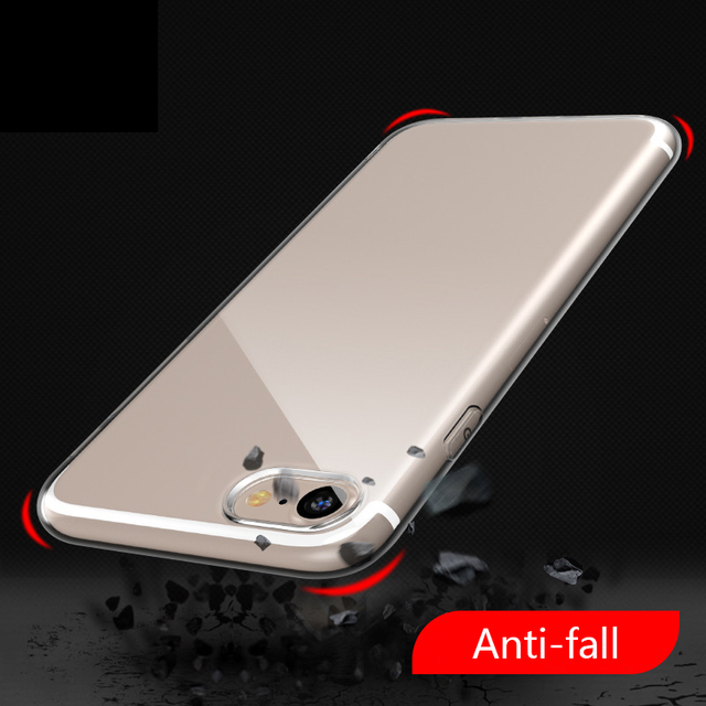 online retailer 79aa9 08e2f US $0.46 |Clear Soft Phone Case Cover Fundas Coque For huawei p10 lite  honor 7x 7a For iphone X 6 S 7 7Plus 6S 6Plus 8 8Plus 5 S 5S SE 4S-in  Fitted ...
