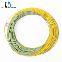 Maximumcatch 80FT 100FT Fly Fishing Line 2wt 9wt Weight Forward Floating Fly Line With Exposed Loop