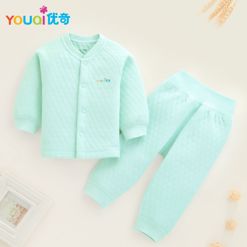 YOUQI Winter Baby Clothing Set Warm Baby Boy Clothes Brand Cotton 3 24 Months Girl T