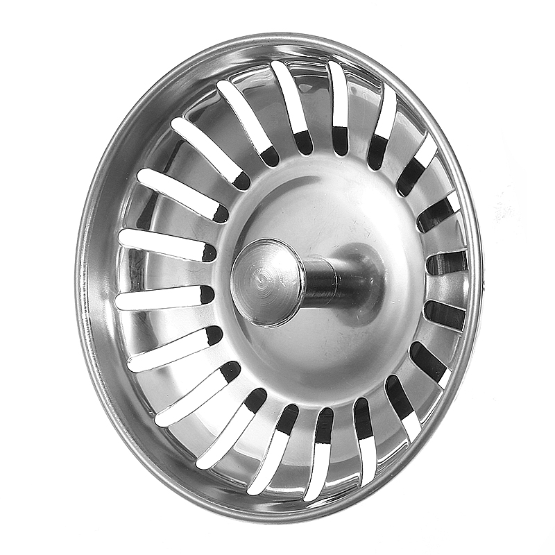 US $2.66 13% OFF|Lowest Price 1pc 304 Stainless Steel Kitchen Sink Strainer  Stopper Waste Plug Sink Filter Bathroom Basin Sink Drain High Quality-in ...