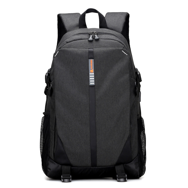 New USB Charging Leisure Backpack Simple Student Bag Multi-function Charging Travel Camera Bag Male Travel Backpack Mochila