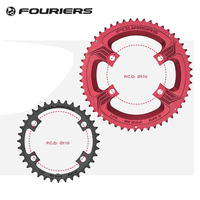 Fouriers Circle Double Chainring 110mm BCD 34t 50T 36t 52T 39t 53T for 5800 105 6800 Ultegra DURA ACE R9000 110 Chain Ring Crank