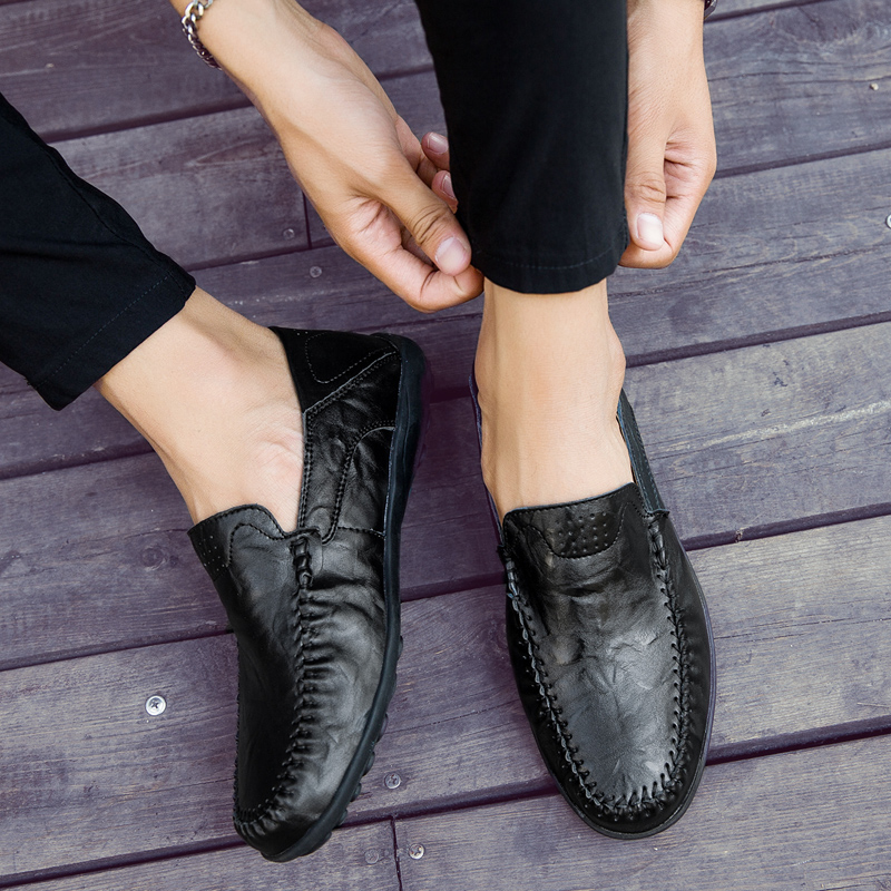 HTB1A0a3cSMmBKNjSZTEq6ysKpXa9 JKPUDUN Italian Mens Shoes Casual Luxury Brand Summer Men Loafers Genuine Leather Moccasins Comfy Breathable Slip On Boat Shoes