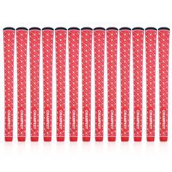 Новые 13 шт./компл. Champkey X-сцепление красный резиновые ручки гольф Стандартный и среднего-супер стабильность гольф клуб захваты Бесплатная