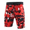 Bermuda de Compressão Calças Justas de verão Camuflagem Shorts Men Quick Dry Board Shorts
