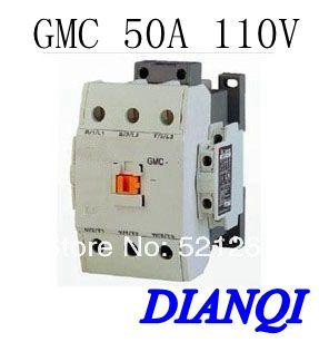 CONTACTOR AC GMC GMC-50 50A 110v 50/60hz high quality цена и фото