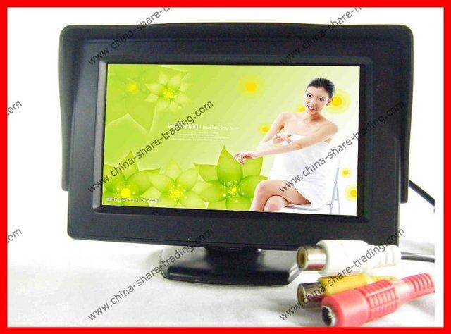 """4.3"""" inch LCD TFT car Rear view Monitor Backup Monitor Display"""