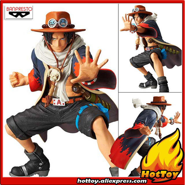 "100% Original Banpresto KING OF ARTIST Collection Figure - Portgas D. Ace III from ""ONE PIECE"""