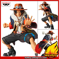 100% Original Banpresto KING OF ARTIST Collection Figure Portgas D. Ace III from ONE PIECE