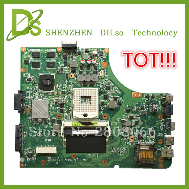 HOT!!!For Asus K53SD motherboard REV 5.1 laptop motherboard with Graphics card GT610M 2GB 100% tested freeshipping
