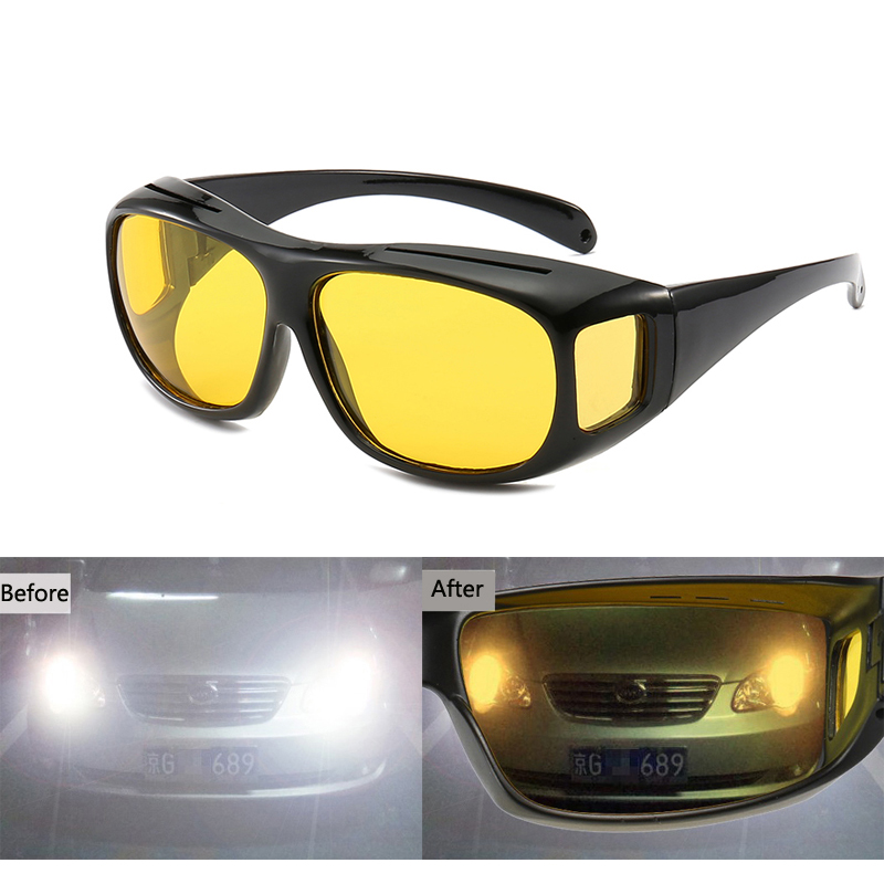 Car Driving Glasses Sunglasses Night Vision Goggles For Honda civic accord fit jazz city hornet <font><b>Subaru</b></font> Forester Impreza <font><b>Outback</b></font> image