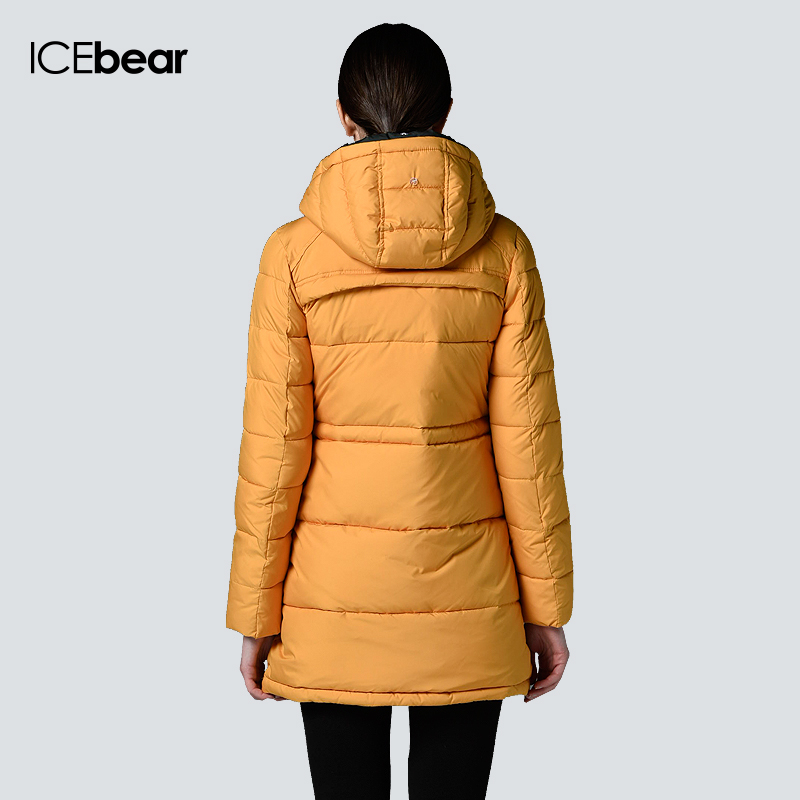 074638de3cc Purelife of ICEbear Long Winter Brand Fashion Clothing 2015 Jacket And Girls  Plus Size Women Trendy Parka 14G6206P-in Parkas from Women s Clothing on ...