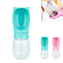 350ML Portable Pet Dog Water Bottle Feeder Travel Bowl Cat Feeding Drinking Cup Outdoor Dispenser Product