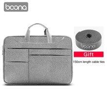 Boona 12/13.3/14/15/15.6 Inch Portable Computer Bag Oxford Zipper Laptop Bag Case Handbag For Macbook Air Pro Lenovo ASUS Sony