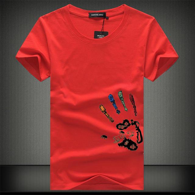 SWENEARO Men T-Shirts Plus Size 5XL 4XL Tee Shirt Homme Summer Short Sleeve Men's T Shirts Male TShirts Camiseta Tshirt Homme