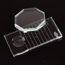 GLESUM Eyelash Extension Stand Base False Lashes Grafting Holder Eye Make Up Tool False Eyelash Pallet Tray(China)