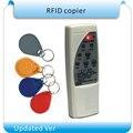 Envío libre 4 tipos frecuencia RFID Fotocopiadoras/duplicador/cloner ID em lector y escritor + 10 unids em4305 escritura keyfob