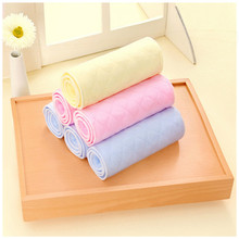 Baby Color Three-layer / Six-layer Ecological Cotton Diaper Quickly Absorbs Free Folding Products