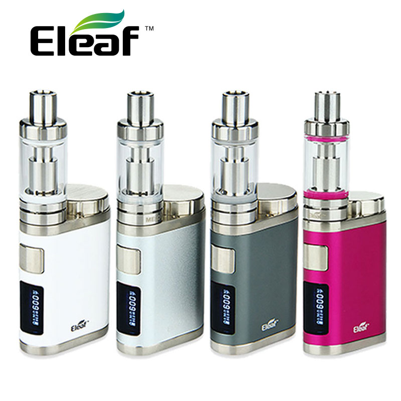 Original Eleaf iStick Pico Mega 80W TC E Cigarette Start Kit with 4ml Melo 3 Atomizer & Pico Mega Box Mod Vape NO 18650 Battery сменная панель для eleaf istick 100w tc черная