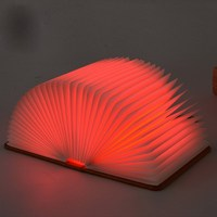 NEW Hot Lumio Style LED Folding Book Lamp 4 Colors Light Innovative Gift WA903