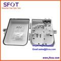 16-port FTTH Caixa de Distribuição, 1*16 PLC splitter box, apropriado para o corredor, na cave, quarto e aplicação ao ar livre