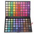 Бесплатная доставка Pro 120 Полноцветный Палитра Теней Для Макияжа Палитра Теней для Век Макияж Косметика 5 #