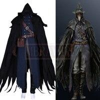 Bloodborne Gehrman первый Охотник Эйлин ворона косплэй костюм по индивидуальному заказу Бесплатная доставка