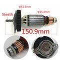 5 zähne Anker Rotor motor für DEWALT N081737 D25102K D25103K D25122K D25123K D25124K D25113K D25223K D25213K Power Werkzeug teil