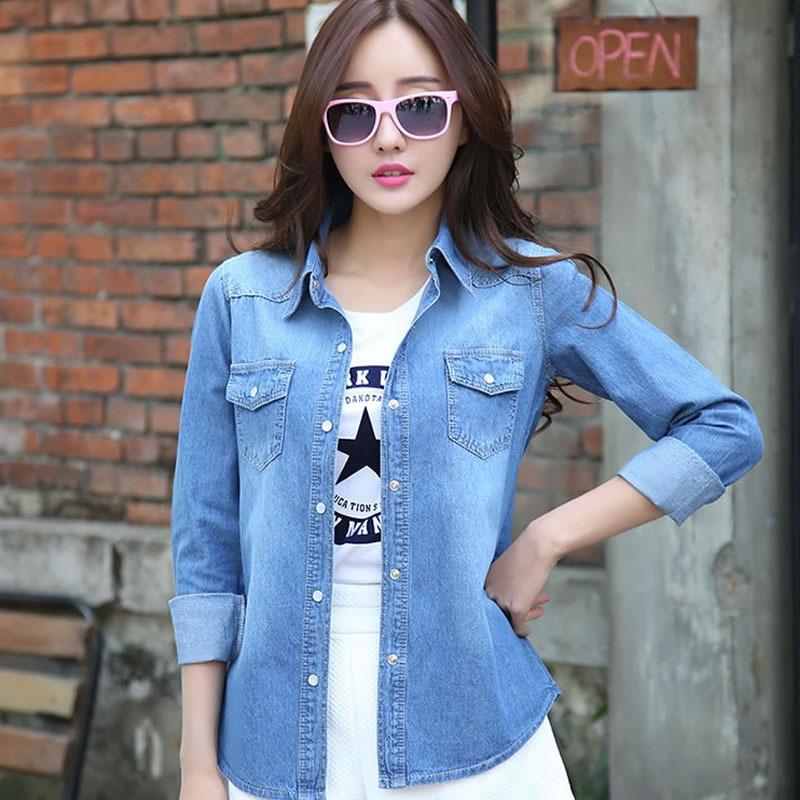 2014 women coat slim Denim Jacket jeans ladies clothing Fashion ...